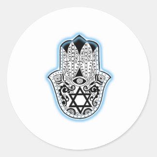 Hamsa Round Sticker