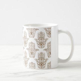 Hamsa symbol  White 11 oz Classic White Mug