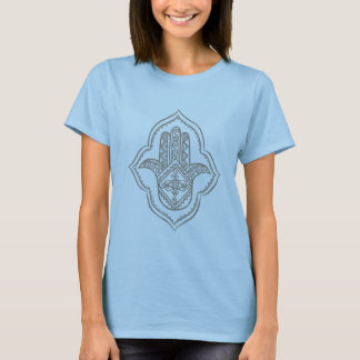 hamsa(taupe) blue cami T-Shirt