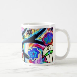 hamsa tree off life by Sandra Silberzweig Coffee Mug