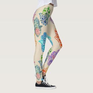 Hamsas Pattern Leggings