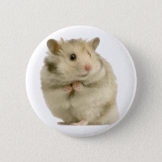 Hamster 2 Inch Round Button