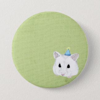 hamster 3 inch round button