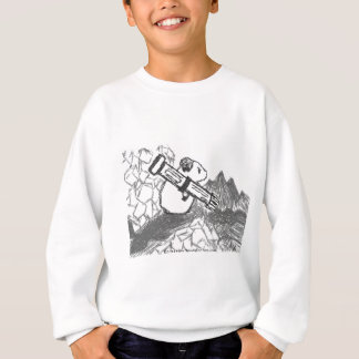 Hamster and a weapon of mass destruction sweatshirt