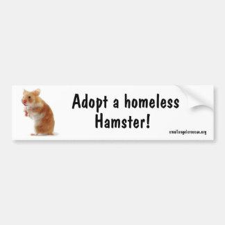 Hamster Bumpersticker Bumper Sticker