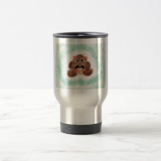 Hamster Eating a Burrito Travel Mug