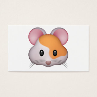 Hamster - Emoji Business Card