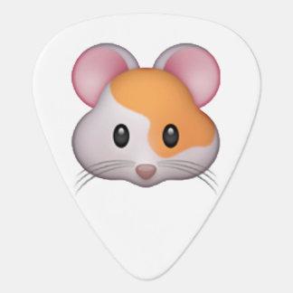 Hamster - Emoji Guitar Pick