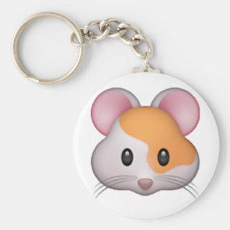 Hamster - Emoji Keychain