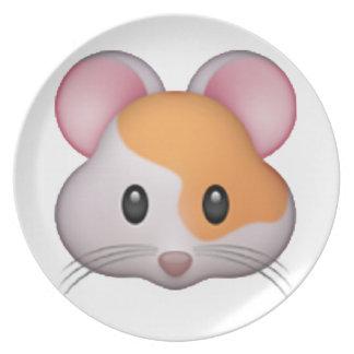 Hamster - Emoji Plate