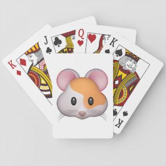Hamster - Emoji Playing Cards