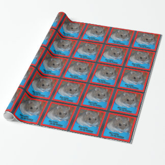 Hamster Holidays Wrapping Paper