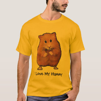 HAMSTER, I Love My Hammy: Painting T-Shirt