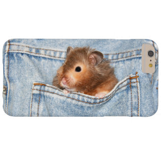 Hamster in pocket barely there iPhone 6 plus case
