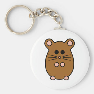Hamster 'myham' keyring
