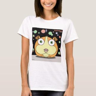 Hamster (Orange/Black Bg) Women's Basic T-Shirt