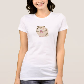 Hamster Ribbon for Breast Cancer Awareness Shirt