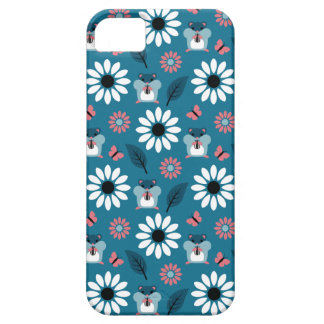 Hamster & Sunflower Seamless Pattern Case For The iPhone 5