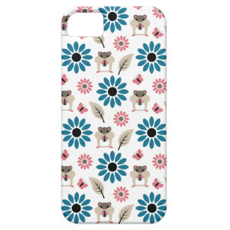 Hamster & Sunflower Seamless Pattern iPhone 5 Cover