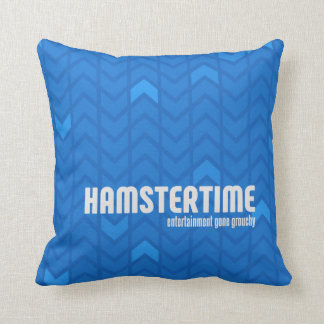 Hamster Time Square Pillow