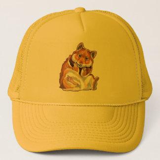 hamster trucker hat