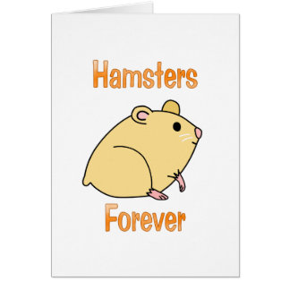 Hamsters Forever Card