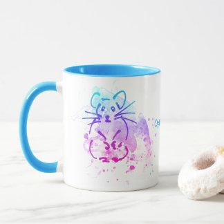 Hamsters - Modern Minimalist Watercolor - Add Text Mug