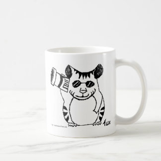 Hamsters with Attitudes....and Sunglasses! Classic White Coffee Mug
