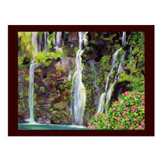 Hana Waterfalls Postcard