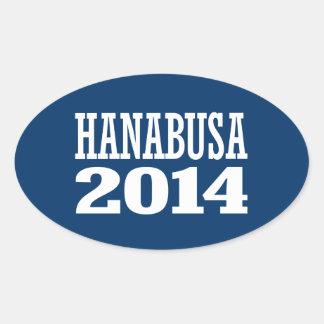 HANABUSA 2014 STICKER