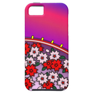 Hanafuda Sakura Flower Card iPhone 5 Case