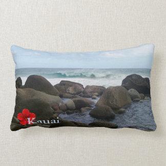 Hanakapi' ai Beach Lumbar Pillow