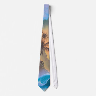 Hanalei Bay Beach Surf Tie