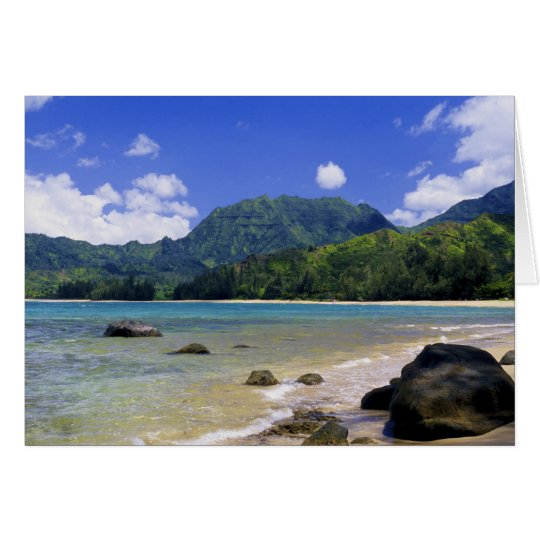 Hanalei Bay, Kauai Card