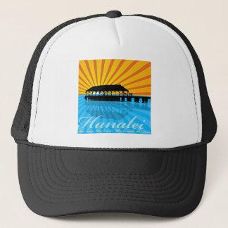 Hanalei Pier Trucker Hat