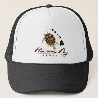 Hanauma Bay Hawai Turtle Trucker Hat