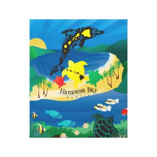 Hanauma Bay Hawaii Canvas Print