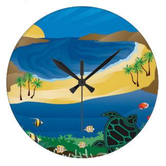 Hanauma Bay Hawaii Clock