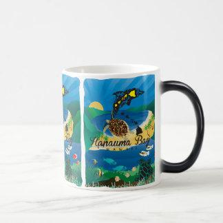 Hanauma Bay Hawaii Dolphin and Turtle Magic Mug