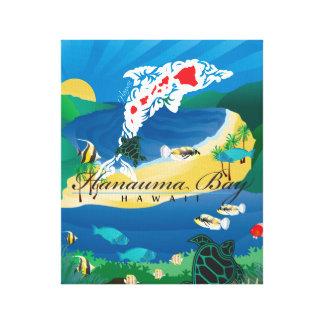 Hanauma Bay Hawaii Dolphin Islands Canvas Print