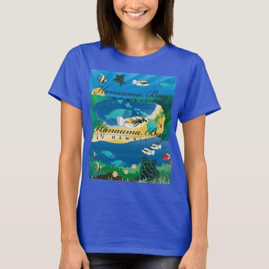 Hanauma Bay Hawaii Fish - Humuhumunukunukuapua'a T-Shirt
