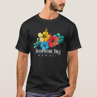 Hanauma Bay Hawaii hibiscus Flowers T-Shirt