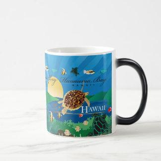 Hanauma Bay Hawaii Honu Magic Mug