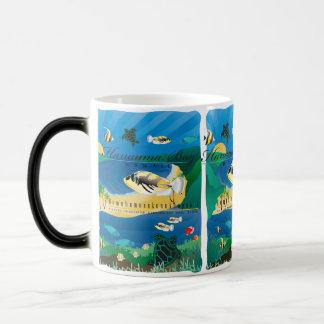 Hanauma Bay Hawaii Humuhumunukunukuapua'a Magic Mug