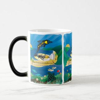 Hanauma Bay Hawaii Humuhumunukunukuapua'a Fish Magic Mug