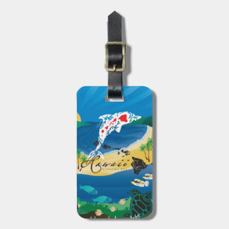 Hanauma Bay Hawaii Islands Luggage Tag