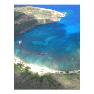 Hanauma Bay Hawaii Letterhead