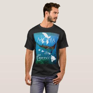Hanauma Bay Hawaii Manta Ray T-Shirt