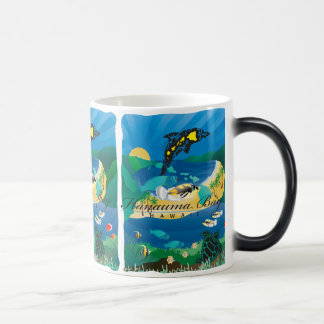Hanauma Bay Hawaii Parrot Fish Magic Mug
