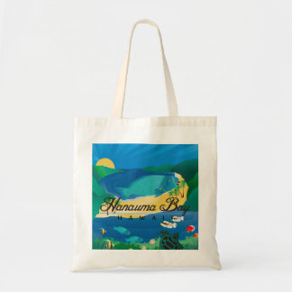 Hanauma Bay Hawaii Parrot Fish Tote Bag